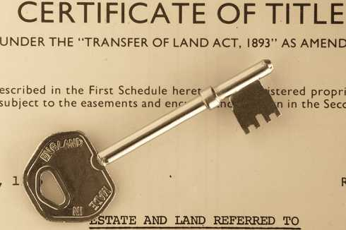 Certificate of Property Title