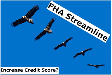 FHA Streamline Refinance - Low Credit Score?