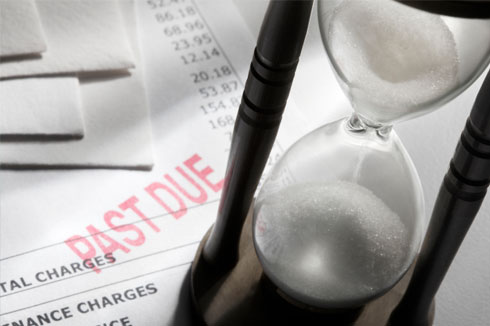 Past due bills? Find a debt relief solution.