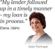 Elena from Idaho says 'My lender followed up in a timely manner, my loan is in process' about bills.com