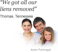 Thomas from Tennessee says 'We got all our liens removed' about bills.com